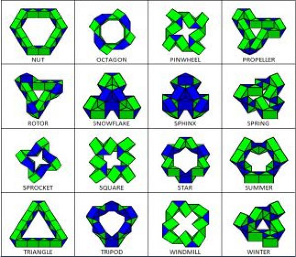 Как сделать из змейки рубика пошаговая инструкция 63