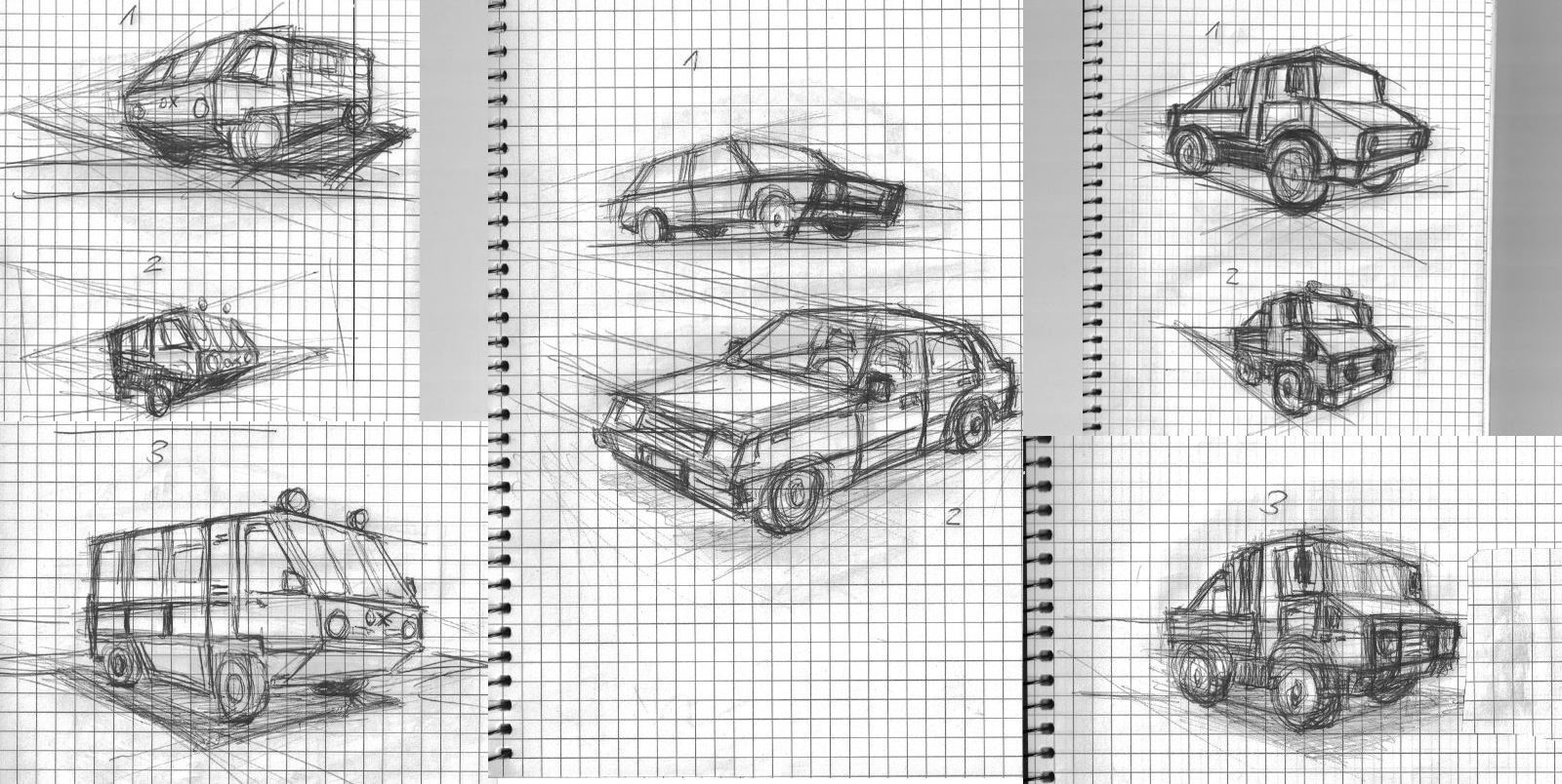 Cars and Perspective by Dr.Electro (Streak 0) - Streak Club